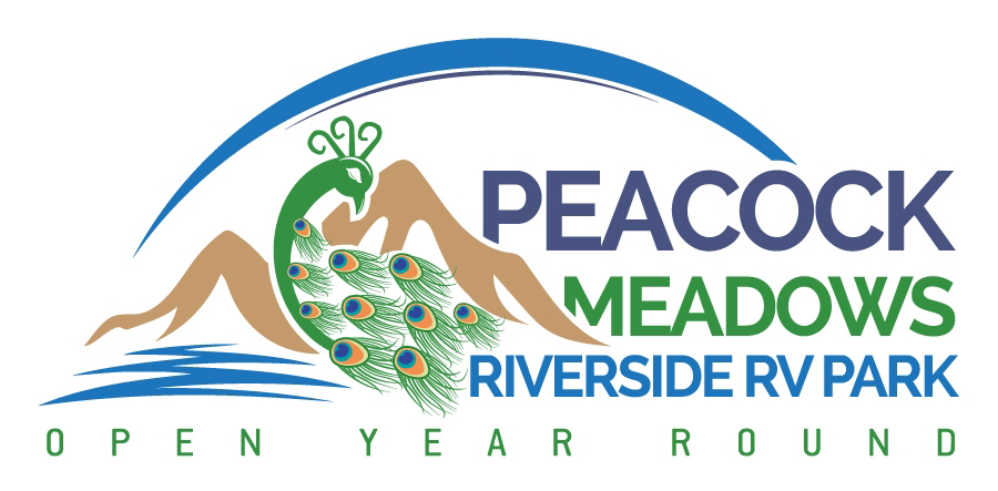 Peacock Meadows Riverside RV Park and Campground, Logo